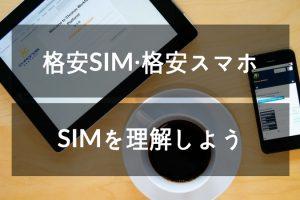 SIMを理解する